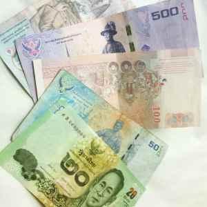 1 THB = R$ 0,09 = US$0,031