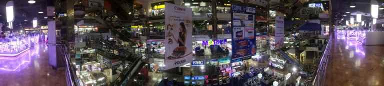 Pantip Plaza - o mundo dos eletrônicos