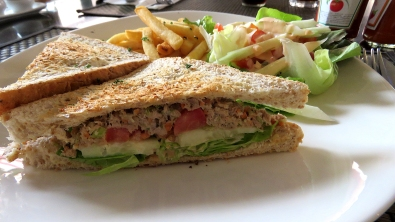 Tuna Sandwich, Cafe d'Elite
