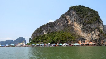 Koh panyee, vila de pescadores