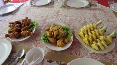 Almoço em Koh panyee