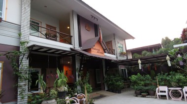 Baan Jaru Guesthouse, entrada dos quartos