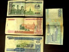 US$ 1 = R$ 3 = 8.000 Kips