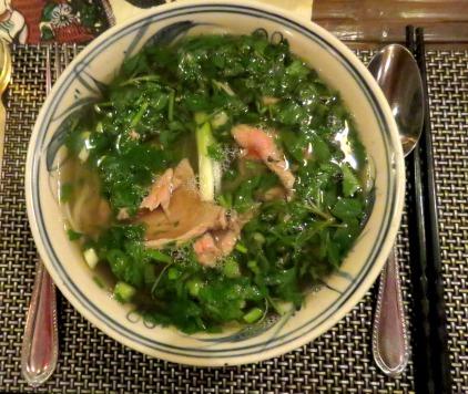 Pho, a sopa de macarrão tradicional do Vietnã