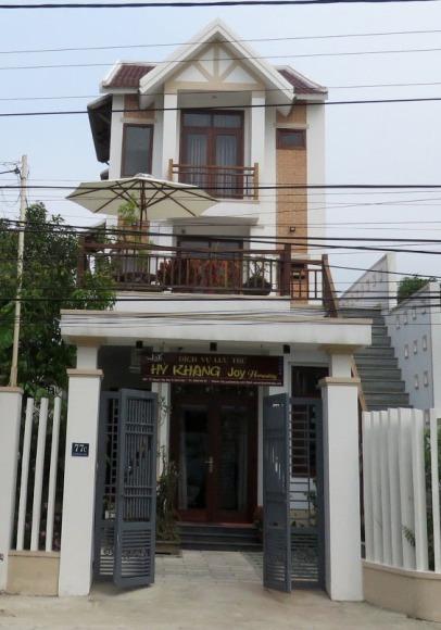 Frente da casa de Son