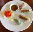Vale a pena pedir o menu para conhecer vários pratos vietnamitas (Spring Roll, Miss Ly)
