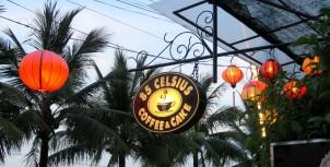Café no centro histórico