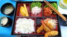 Set menu japonês (Louisiane Restaurant)
