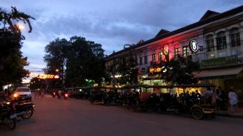 Aonde acontece a noite de Siem Reap