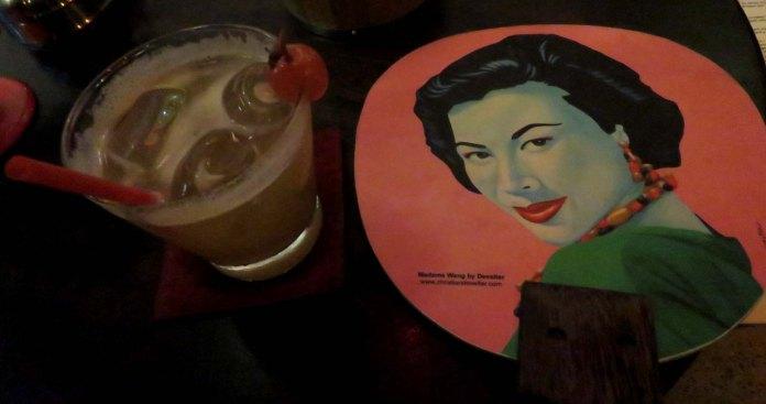 Mango Muai Thai e cardápio fofo em formato de leque