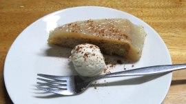 Torta de limão com sorvete
