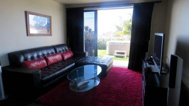 Sala da casa que alugamos