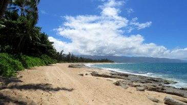Praia do acampamento de Lost